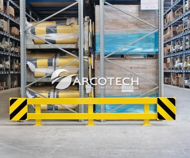 guard rail per magazzini organizzati