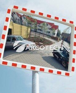Specchi durabel specch stradali in acciaio inox molto resistenti - Specchi stradali vendita ...