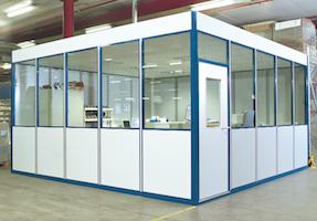 Ufficio Modulare Per Interni : Sistema modulare per uffici shb arcotech srl safety solutions