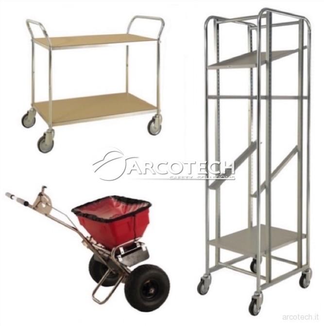 Carrelli manuali - Arcotech Srl - Safety Solutions