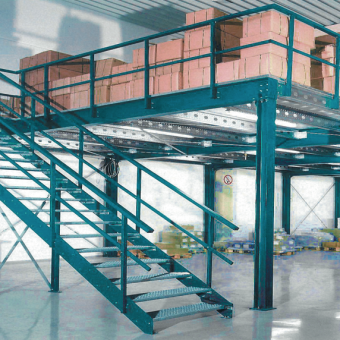 Ideale per creare aree di magazzinaggio rialzate
