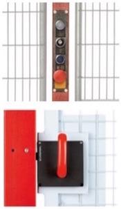 Maniglia e pulsantiera GSM