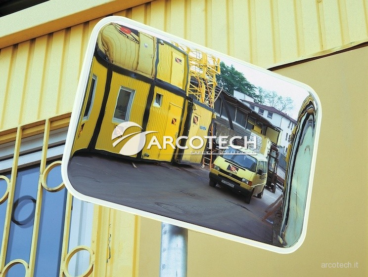 Specchio spion arcotech srl safety solutions - Specchi stradali vendita ...